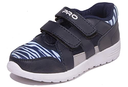 Boys Navy Casual Dress Sneakers