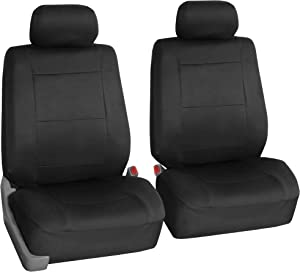FH Group FB083BLACK102 Semi-Universal Neoprene Bucket Seat Cover Airbag Compatible