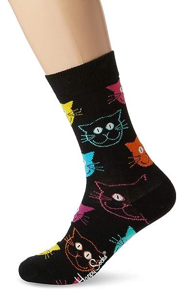negozio vendita scontata scarpe da ginnastica Happy Socks Cat Sock: Amazon.it: Abbigliamento