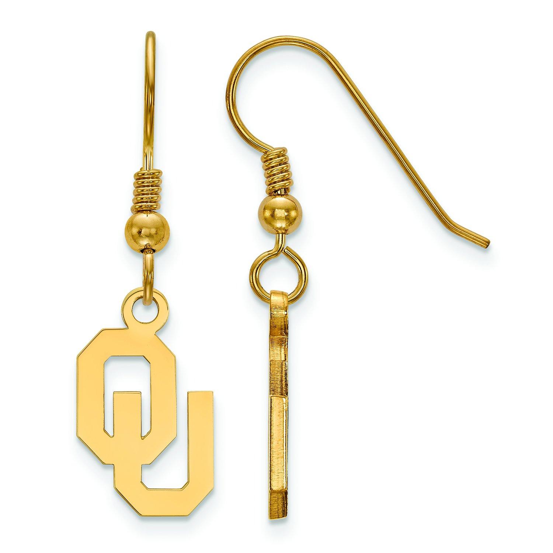 オクラホマSmall ( 1 / 2インチ)ダングルイヤリングワイヤ(ゴールドメッキ)   B01IYET8GA