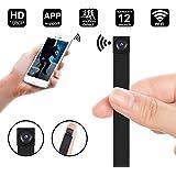 WIFI Mini Spy Camera, 1080P Portable Mini DIY Hidden Camera Module/Nanny Cam - WIFI Live Stream View - Motion Detection - Push Notification Support iOS & Android, PC