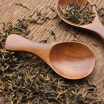 Small Mini Wooden Salt Spoon Nanad 8 Pack Mini Wood Spoon With Short