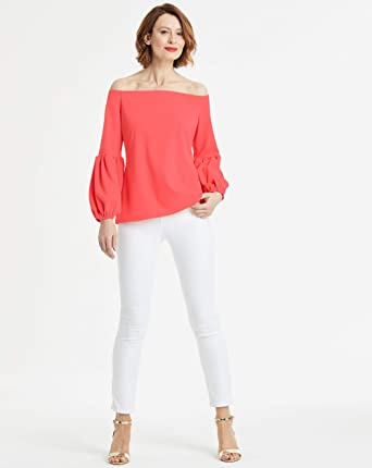 Womens Bardot Top Simply Be