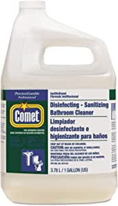 Comet Disinfecting Sanitizing Bathroom Cleaner Refill with Spray Bottle, 1 Gallon - 3 per case.