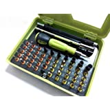 53-in-1 Precision Screwdriver Tool Set Torx Cross and Slotted Repair Set Mechanics for PC Notebook Smartphone and Other Electronic Products