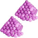 Knorrtoys 56756 - Bälleset - 200 bunte Plastikbälle/ Bälle für Bällebad, 6 cm Durchmesser, in Farbmischung pink / rosa, ohne gefährliche Weichmacher, TÜV-Rheinland Testbericht v. April 2016