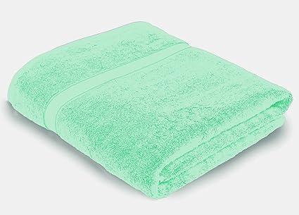Dormir & sonrisa Extra grande Pack de dos toallas de baño, 100% suave algodón