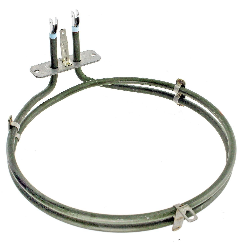 Hotpoint Oven Heating Element Replacement Indesit Genuine Oven Cooker 2 Turn Heater Element 2000 Watt
