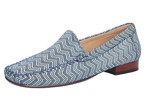 Sioux 63104 - Mocasines de Cuero para Mujer: Amazon.es: Zapatos y complementos