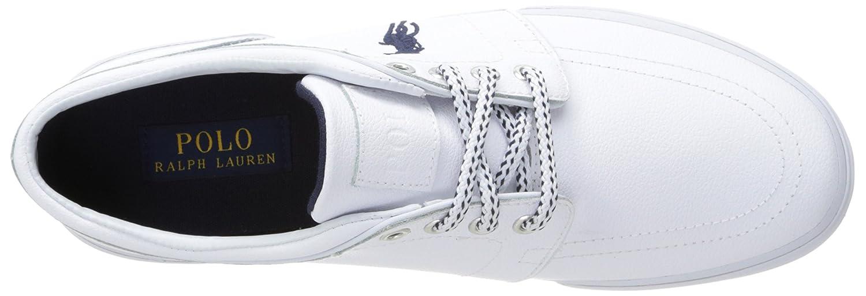 c47735498eb5a Ralph Lauren Polo Men s Faxon Low Sport Leather Fashion Sneaker ...