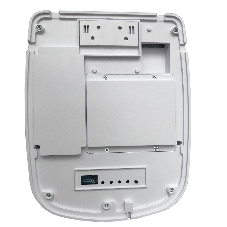 JC 433 MHz - Sirena estroboscópica inalámbrica al aire libre, funciona con energía solar 110 dB para Wi-Fi GSM sistema de alarma de seguridad para el hogar ...