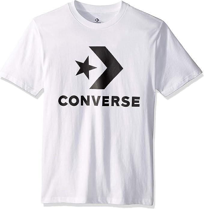 Converse Uomo Maglietta Chevron Bianca