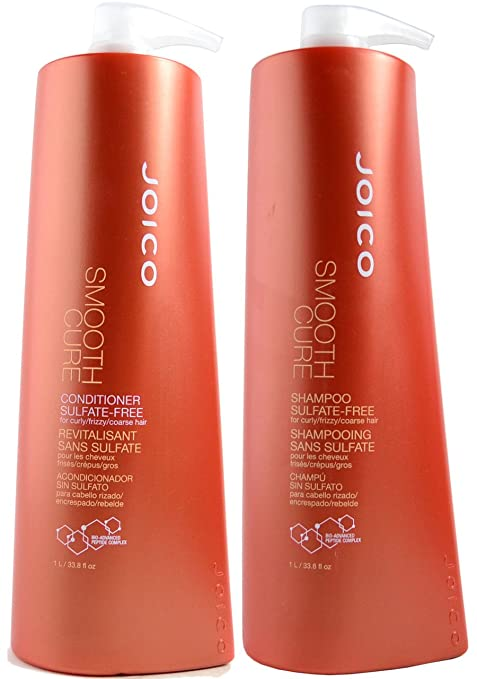 Amazon.com : JOICO, SMOOTH CURE, SHAMPOO AND CONDITIONER DUO (33.8 OZ) by Joico : Beauty