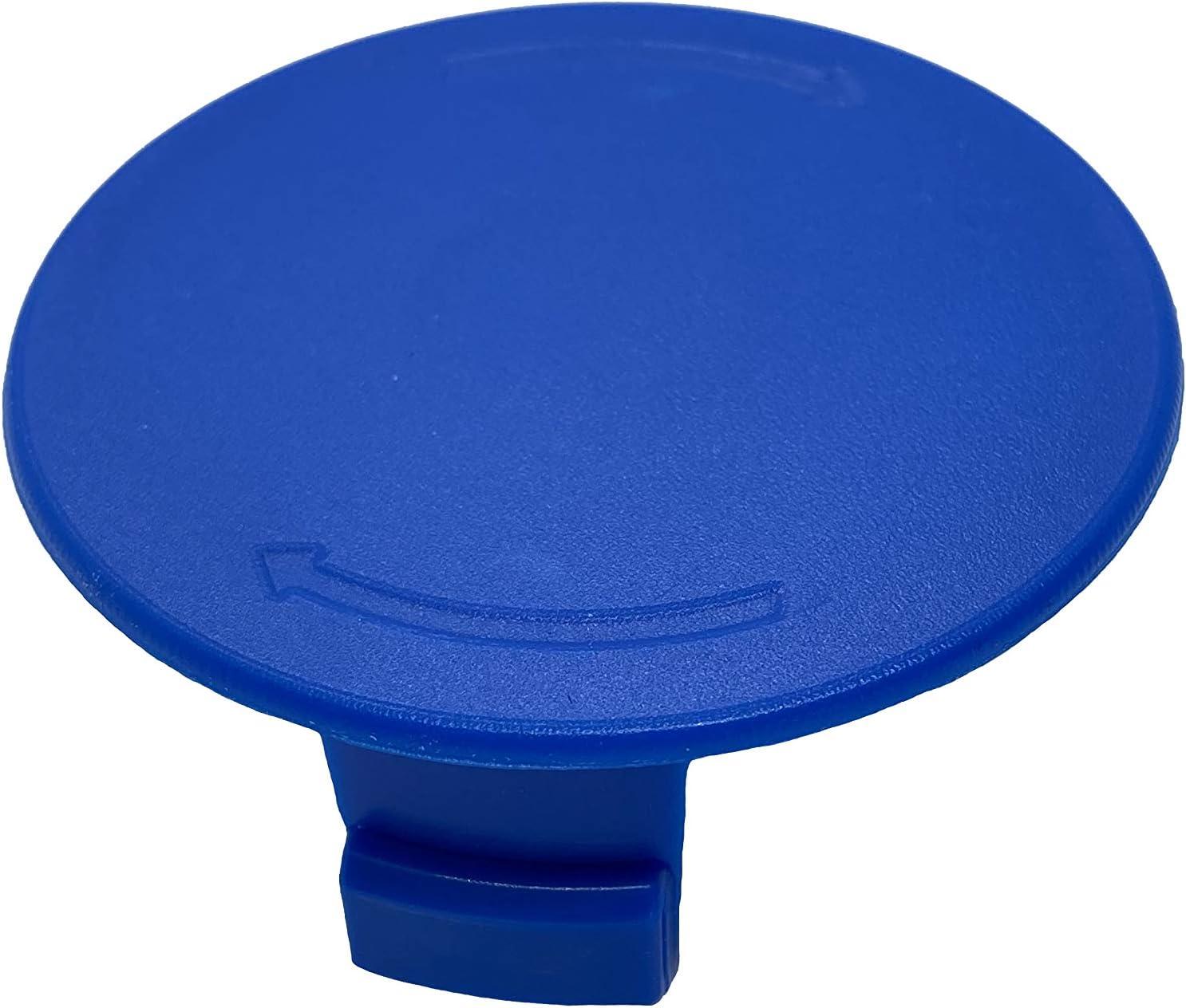 Kobalt 40-Volt Replacement Spool Cap 40 V Blue Spool Cover for Cordless String Trimmer