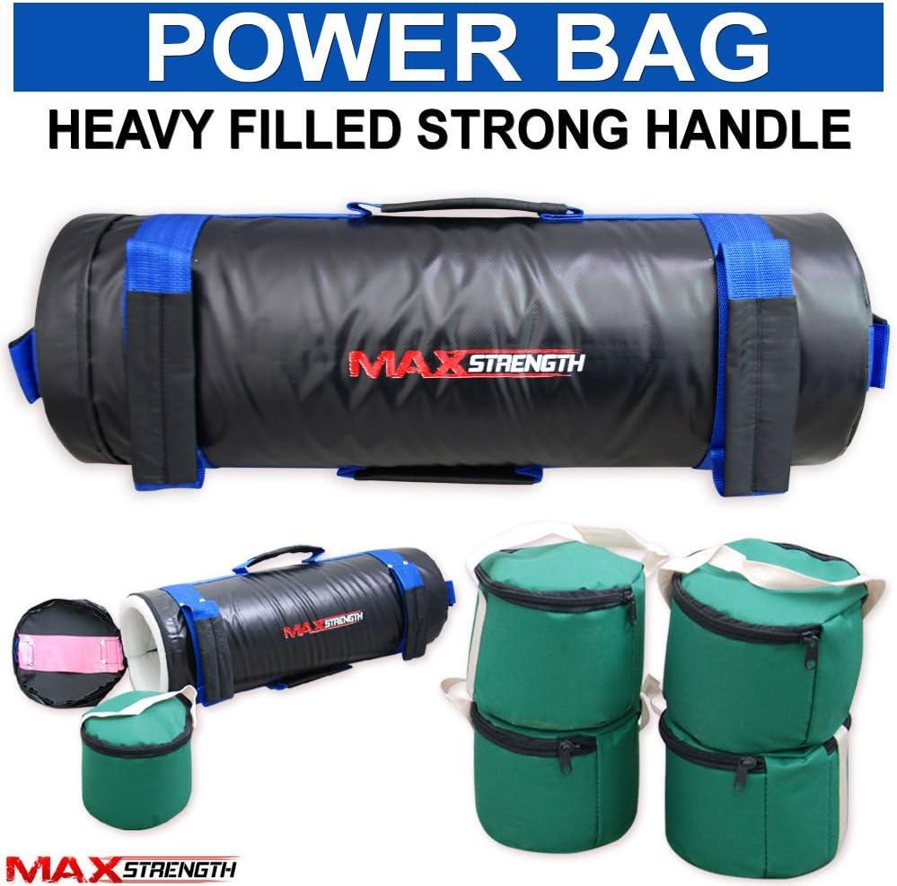 MAXSTRENGTH Max St/ärke Boxen Power Bag Filled Sand Tasche Cross Fit Training MMA Gewicht Taschen 10/kg 20/kg