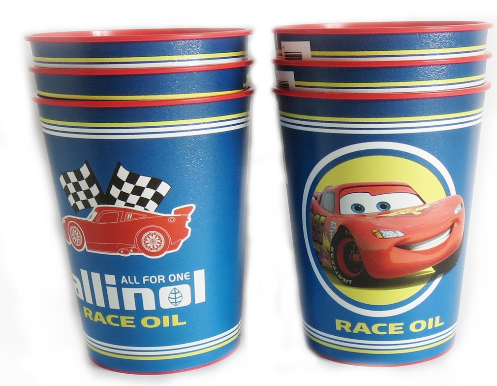 Disney Pixar Reusable Treat Favor Party Cups (Cars Racing Oil)