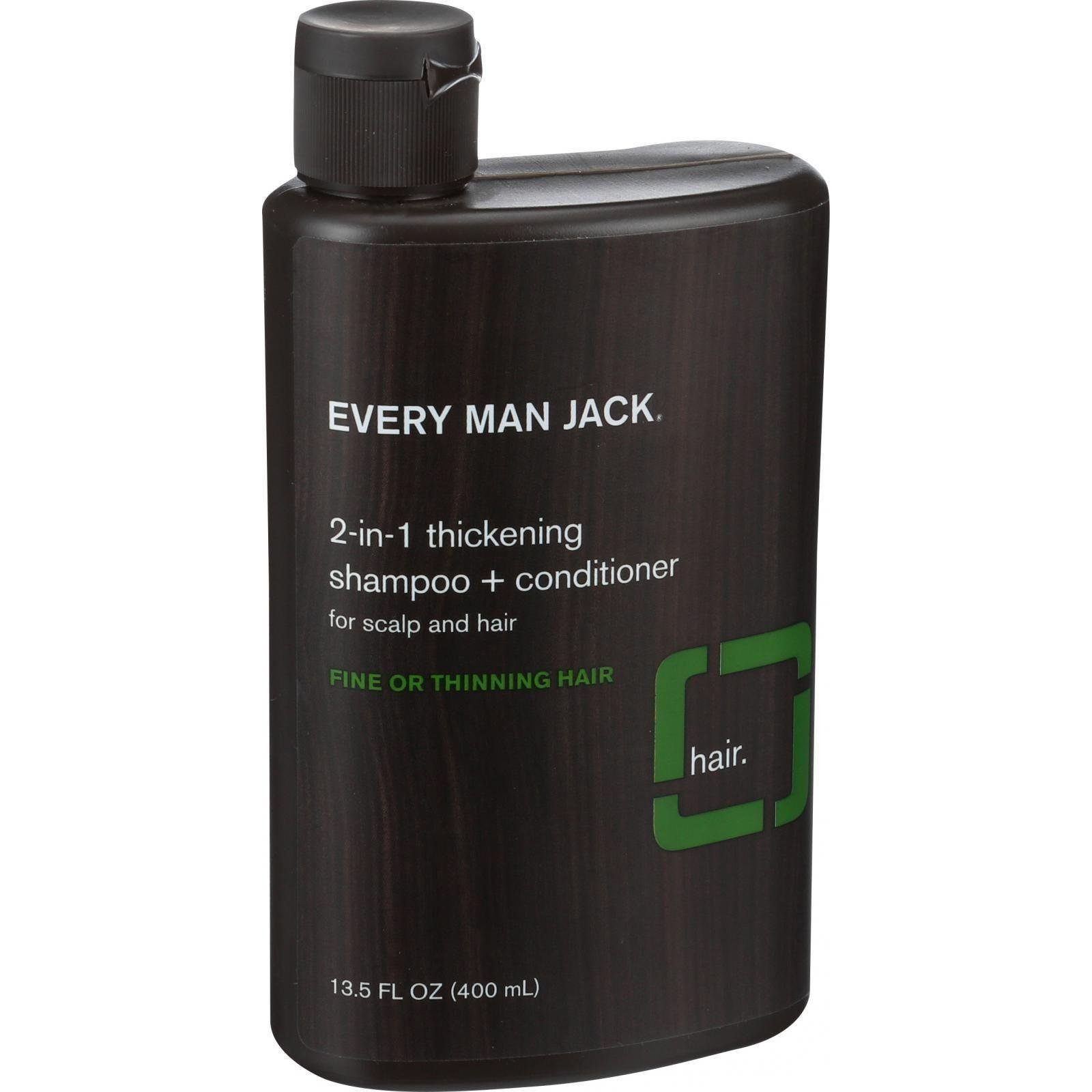 EVERY MAN JACK SHAMPOO 2IN1 THCKNG TTREE 13.5OZ by Every Man Jack