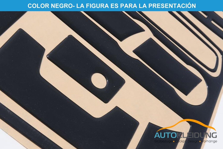 Color: Aluminio espec/íficamente para el veh/ículo 23 Pieza MERIC Decoraci/ón de Salpicadero CD-AL00645 Versi/ón 3D exclusiva
