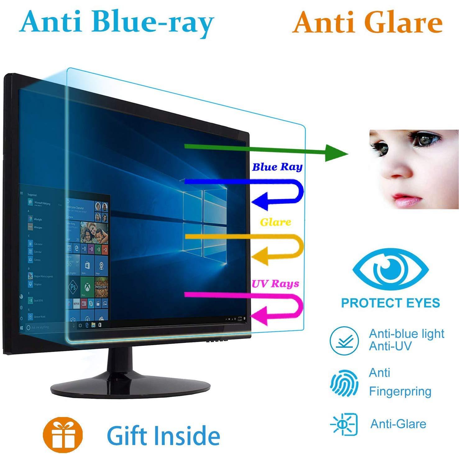 "17InchUniversalAntiGlareMonitorScreenProtectorFit17""Diagonal5:4AspectRatio WidescreenDesktopMonitor,ReduceReflectionandEyesStrain(13.3Wx10.6Hinch)"
