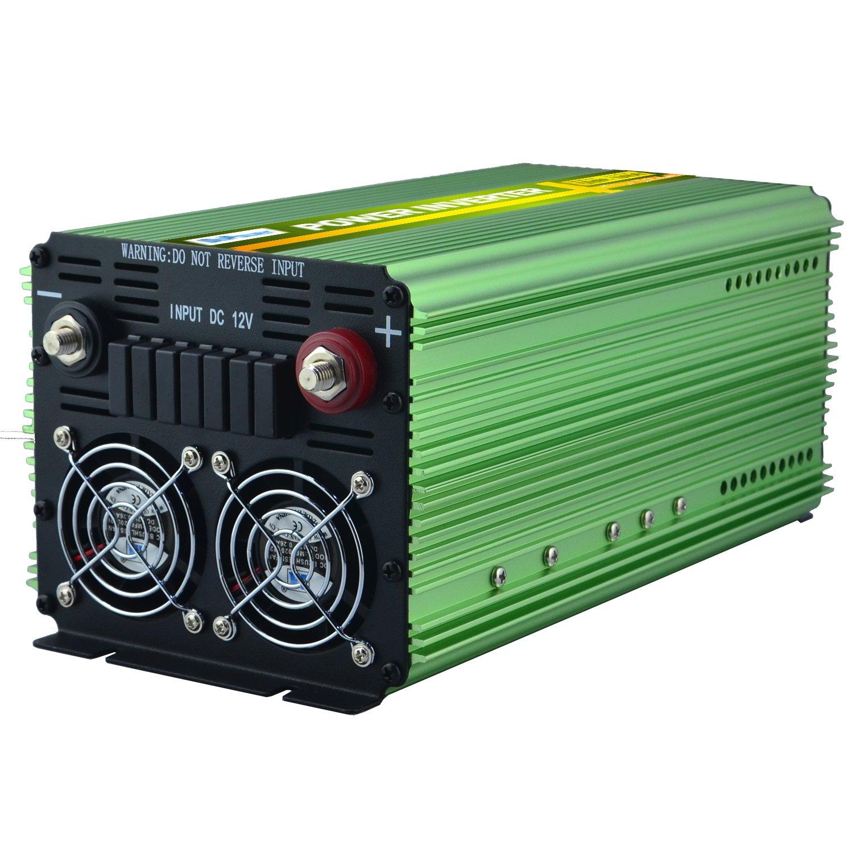 EDECOA 1500 W Pico 3000 W Pure Sine Wave Inversor de ...