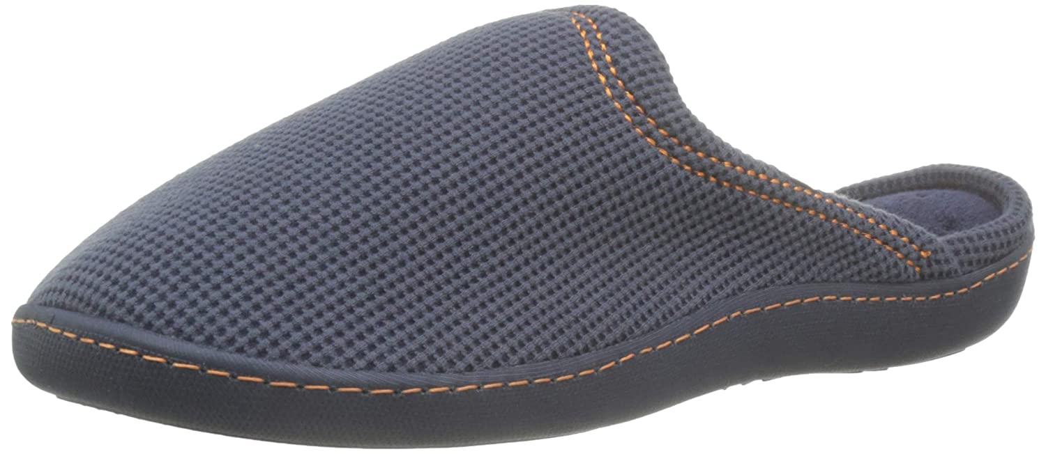 Chaussons Homme isotoner Mens Waffle Mule Slippers