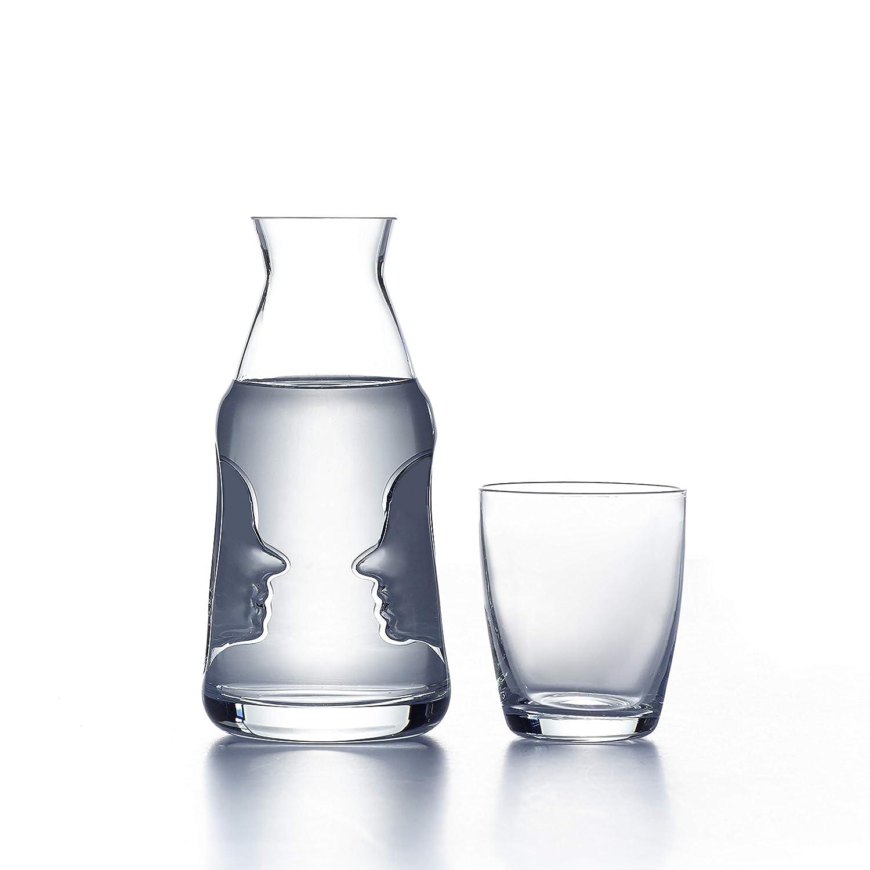 Visage Ensemble carafe de chevet et verre