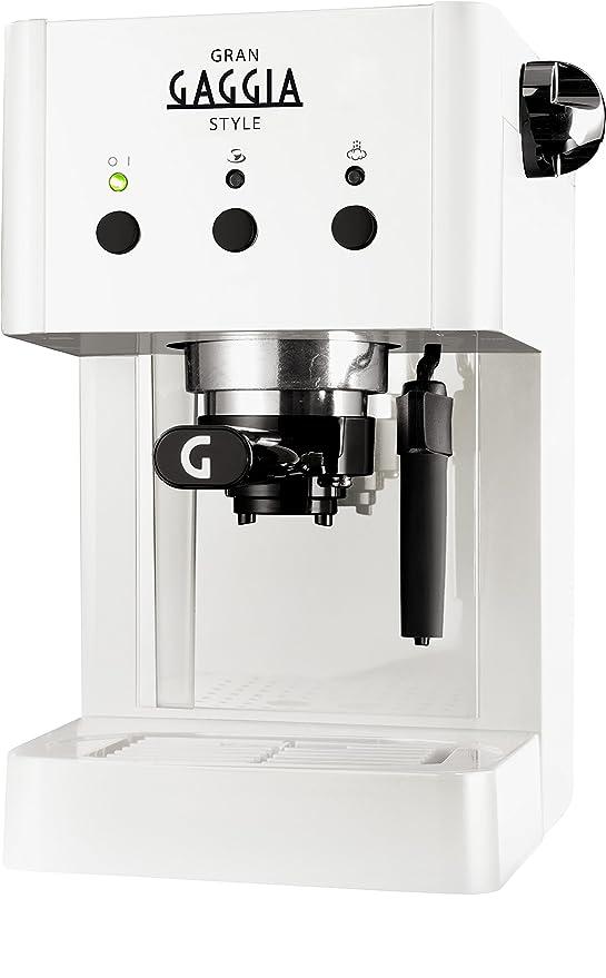 Gaggia RI8323/11 Independiente Manual Máquina espresso 1L Color ...