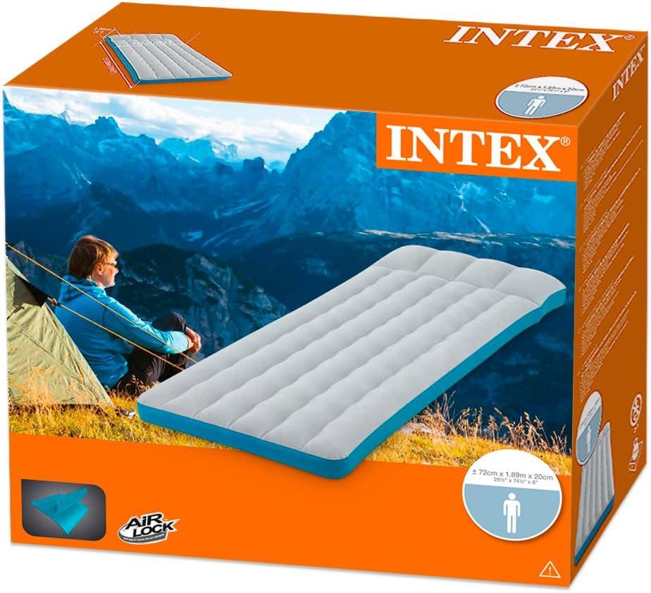 Colchoneta Hinchable de Camping Intex