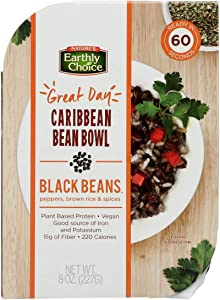 Natures Earthly Choice 2454726 8 oz Caribbean Bean Bowl44; Case of 8