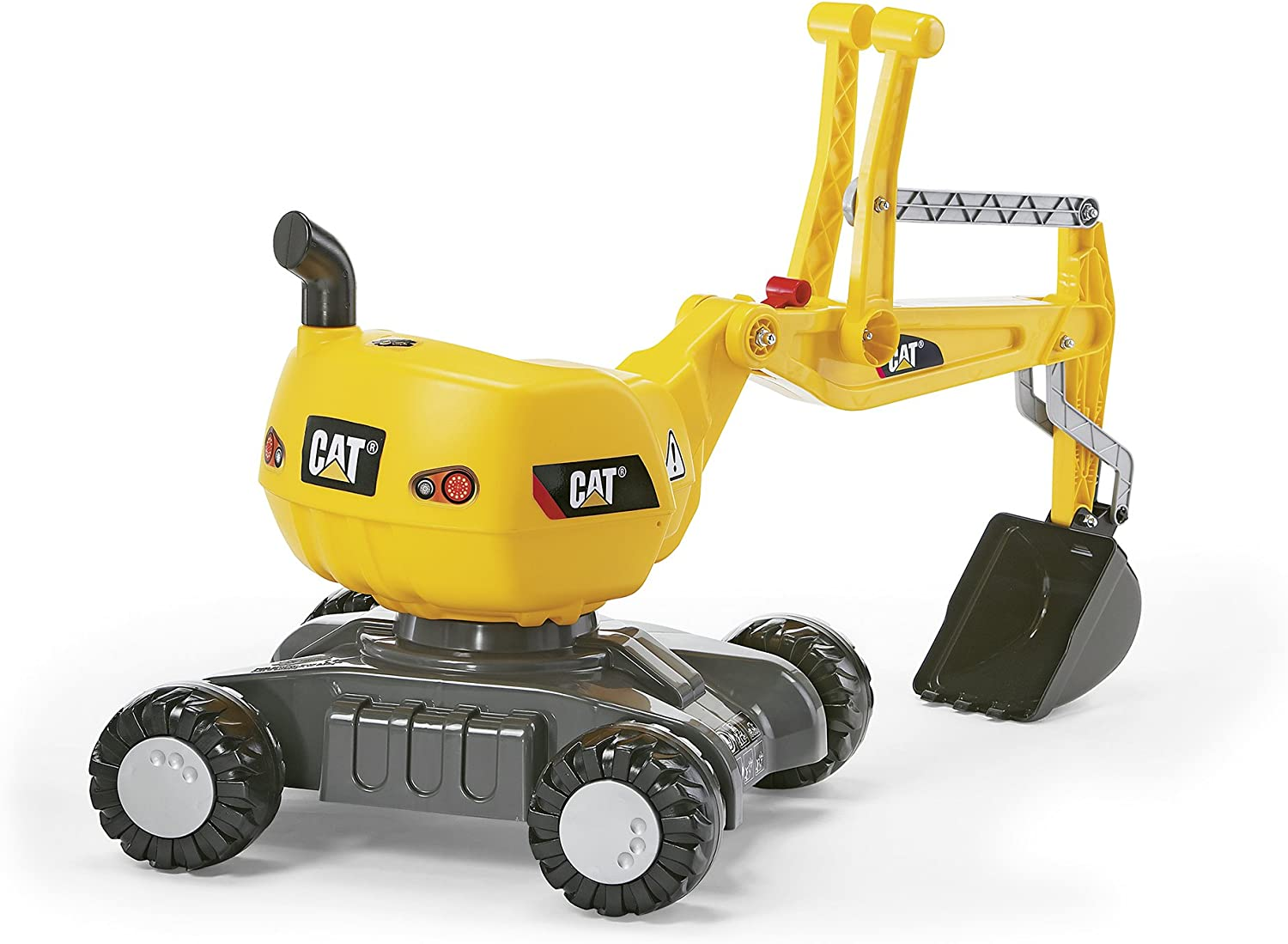 Rolly Toys 421015 CAT Excavator Fully functional with wheels