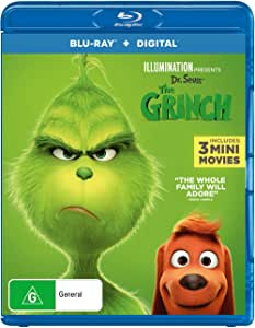 The Grinch (Dr. Seuss') (2018) (Blu-ray)