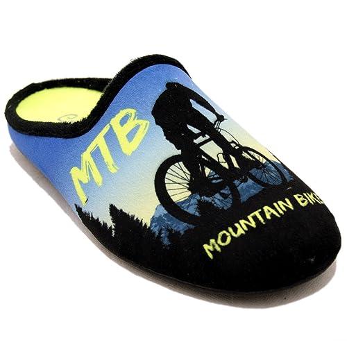 Zapatillas Cabrera Bicicleta MBT - Slippers Bicicle MBT - Gris Oscuro, 40: Amazon.es: Zapatos y complementos