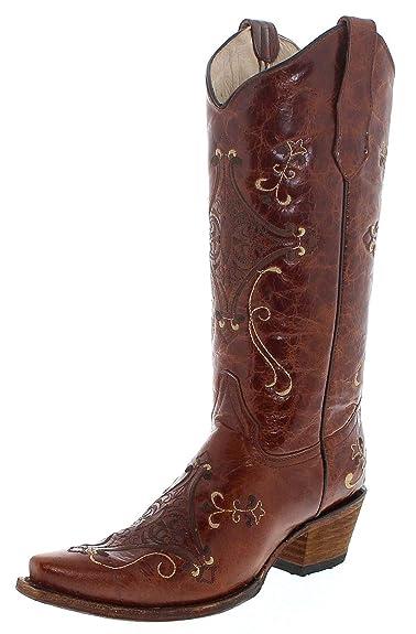 Corral Boots L5063, Bottes et Bottines Cowboy Femme: Amazon