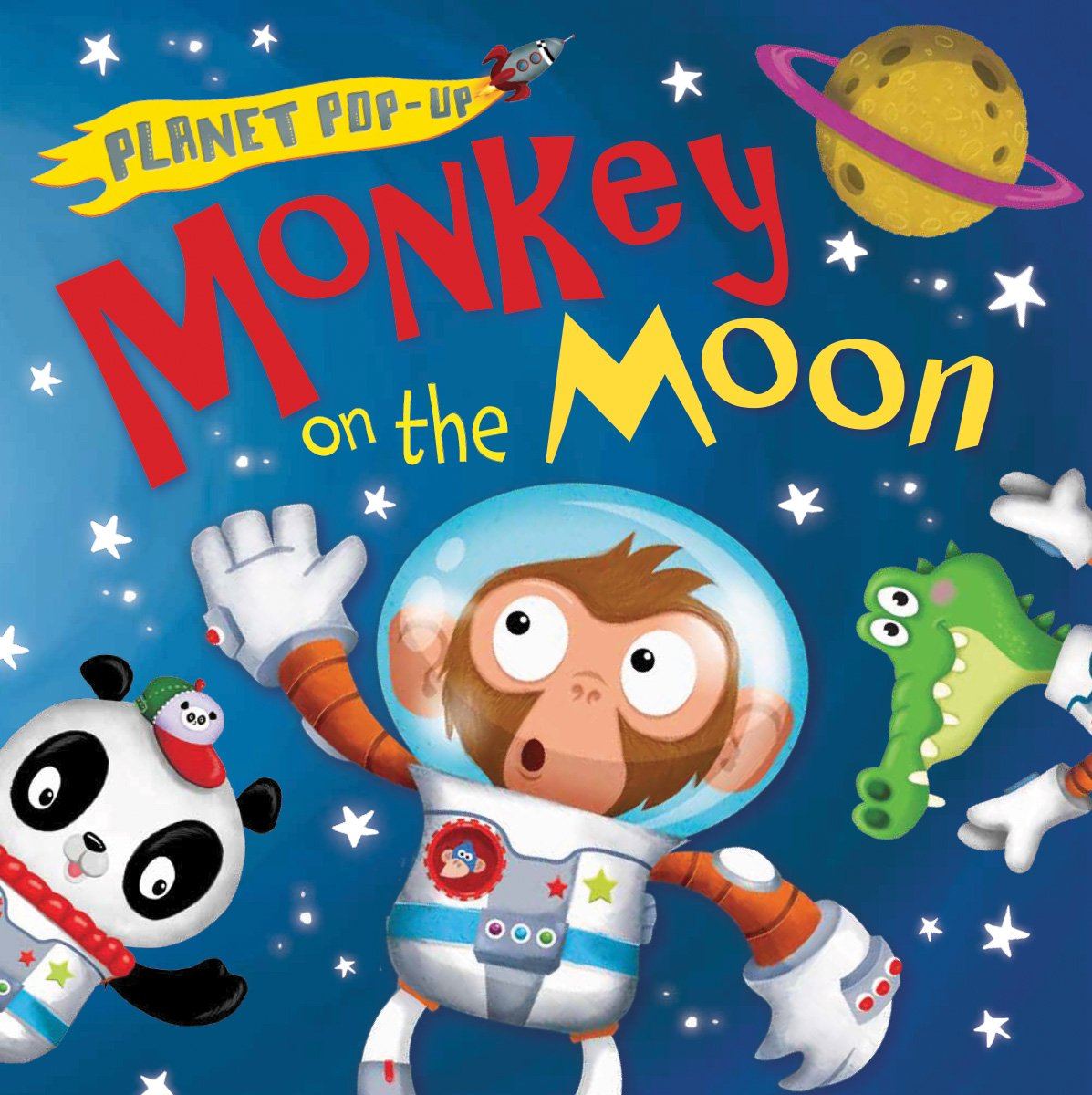 Planet Pop-Up: Monkey on the Moon