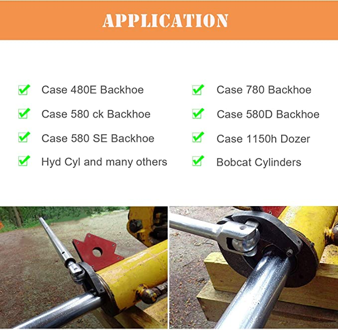 and Skid Steer Loaders. Compact Tractor Loaders 7463 Small Universal Gland Wrench for Hydraulic Cylinders on Agricultural Loaders