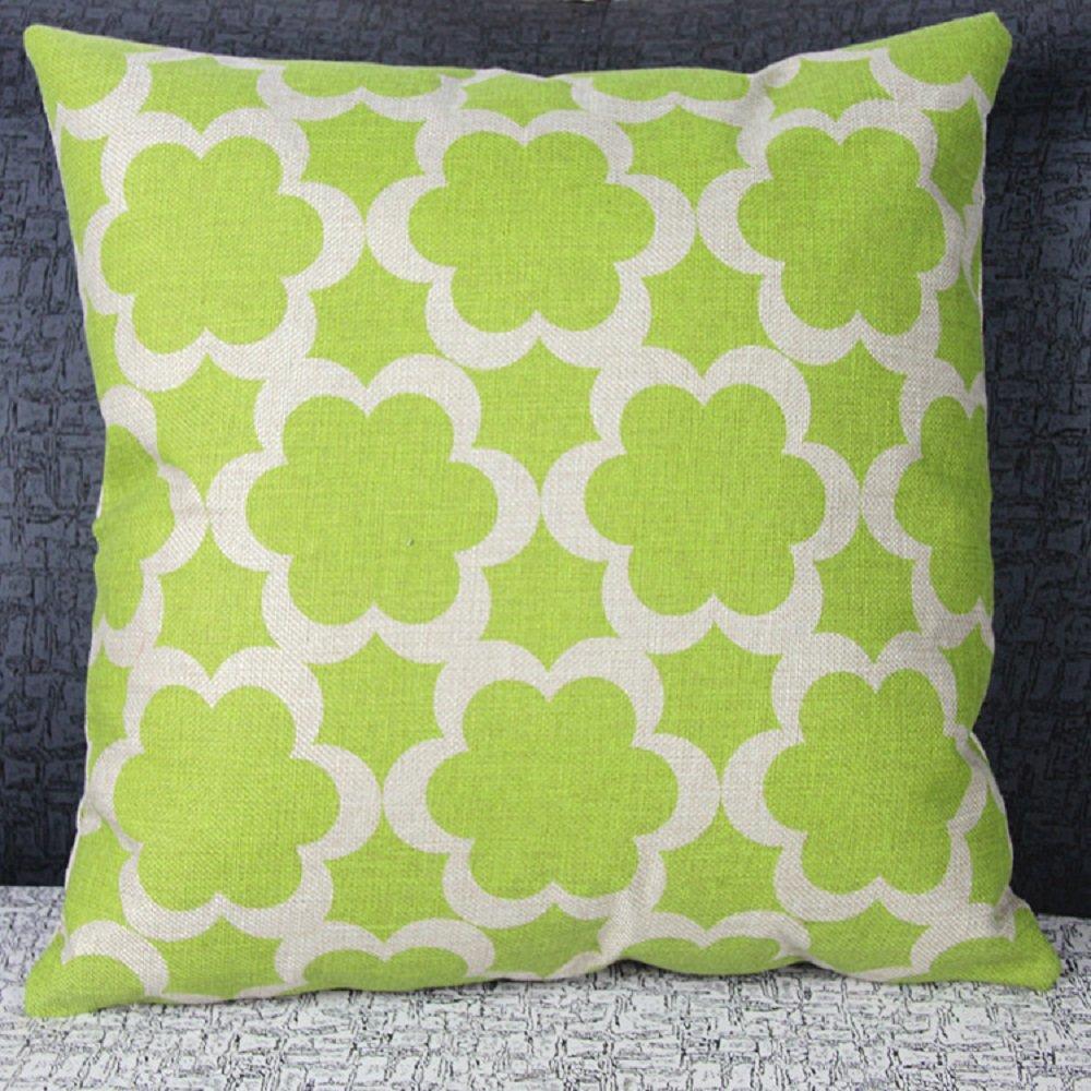 Venkaite Throw Pillow Case big Size wheel bike Cotton Blend Linen Pillow Covers Decor Cushion Covers 45*45CM 1PCS