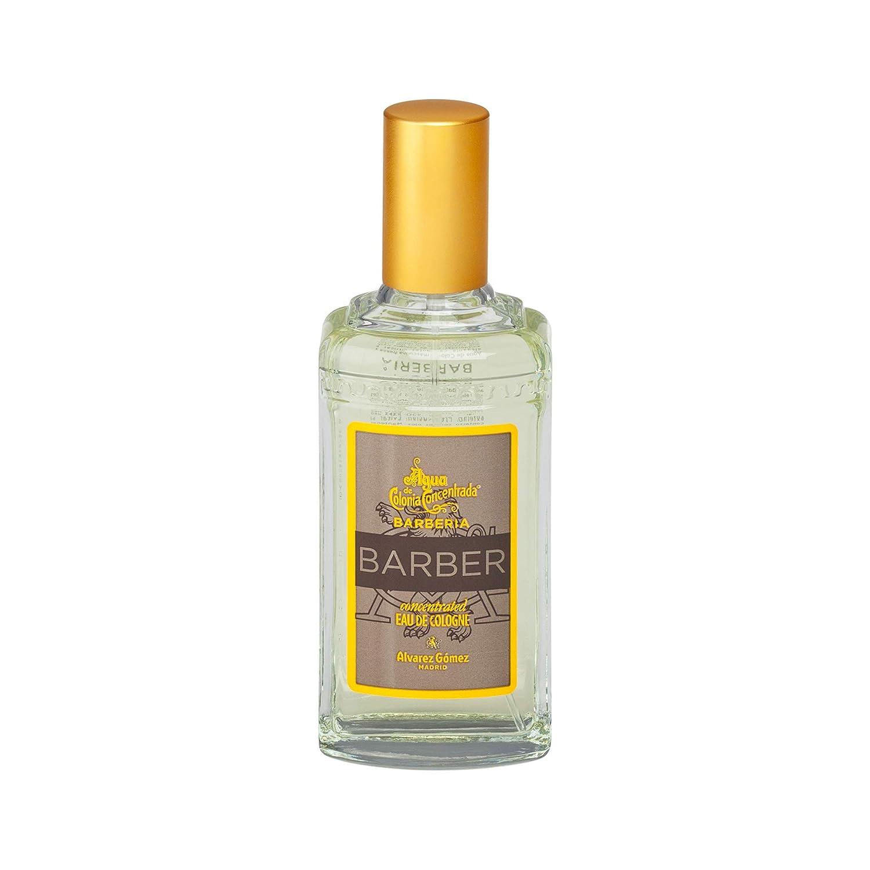 Acqua di Colonia concentrata, da uomo, come quella del barbiere, fragranza maschile fresca ed elegante–198gr Alvarez Gómez BRAC80