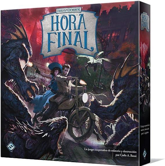 Fantasy Flight Games- Arkham Horror - Hora Final, Color (AFH01ES): Amazon.es: Juguetes y juegos