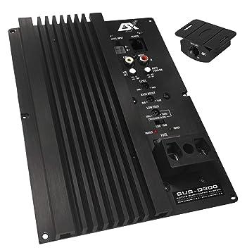ESX Sub de D300 Bass Amplificador Módulo: Amazon.es: Electrónica