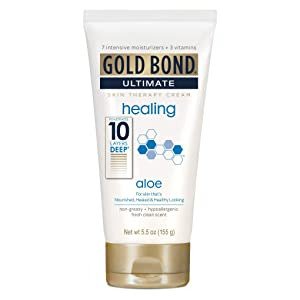 Gold Bond Ultimate Healing Skin Therapy Cream, Aloe 5.50 oz (Pack of 4)