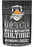 Kombucha SCOBY & Starter Tea - Live Starter Culture - Organic Raw - 12 ounces - 1.5 Cups Starter