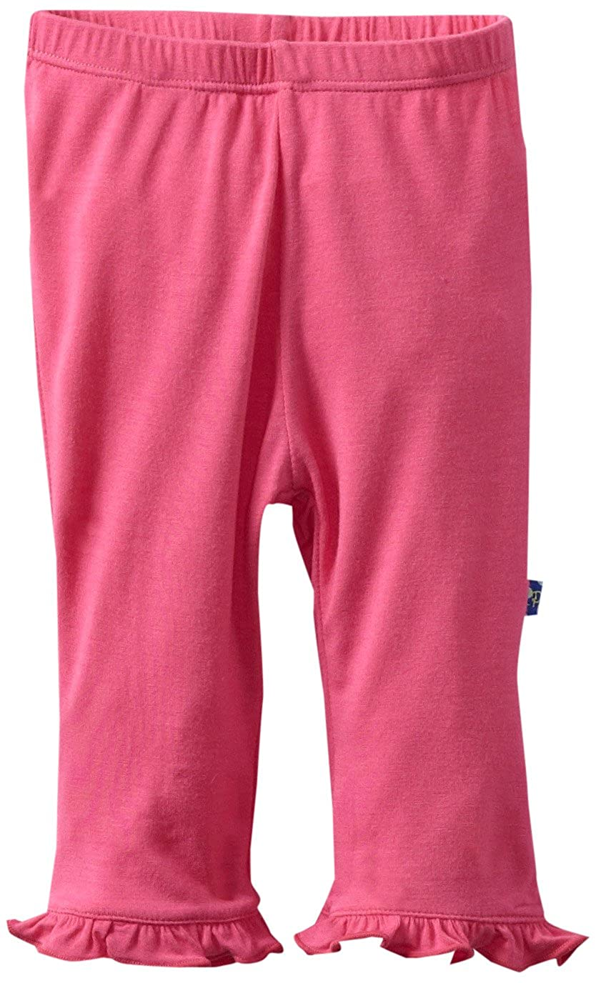 KicKee Pants Baby-Girls Infant Solid Ruffle Pant