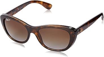 191e78c9c1cec Ray-Ban Womens 0RB4227 Square Sunglasses