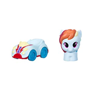Playskool Friends My Little Pony Rainbow Dash Figure and Vehicle