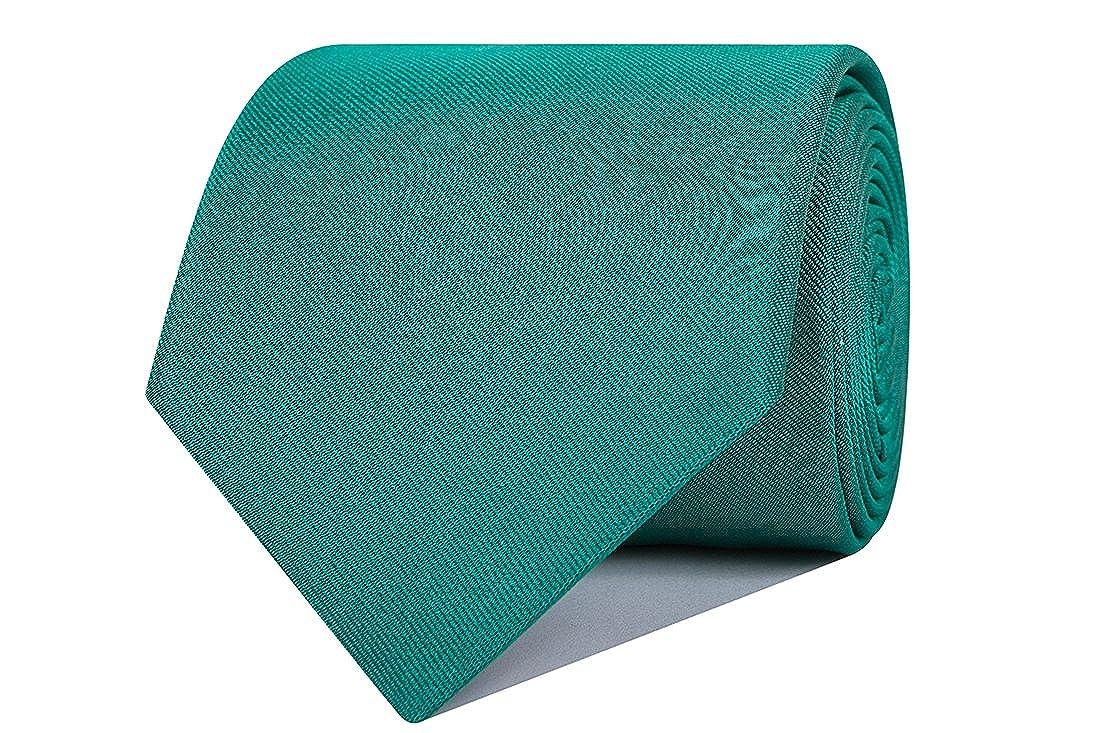 SoloGemelos - Corbata De Seda Verde - Verde - Hombres - Talla ...