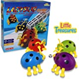 Ladybug Game, fun Children Challenging Table Game, The Goal of the Game, Be the First Player to Complete Your Own Ladybug. Educational Fun Game for Boys and Girls.