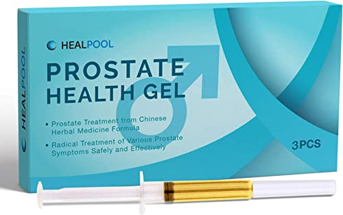 Prostate Health Gel, Prostate Treatment from Chinese Herbal Formula, Radical Treatment of Various Prostate Symptoms Safely and Effectively 3 Pcs