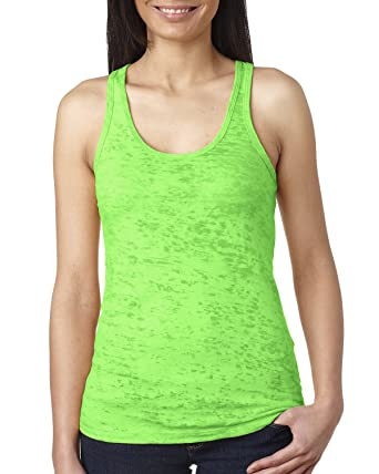 b826b5b36eaf3 Next Level 6533 - Ladies  Burnout Racerback Tank at Amazon Women s Clothing  store