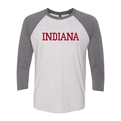 da472a749d8c Amazon.com: NCAA Basic Block, Team Color 3/4-Sleeve Raglan T Shirt ...