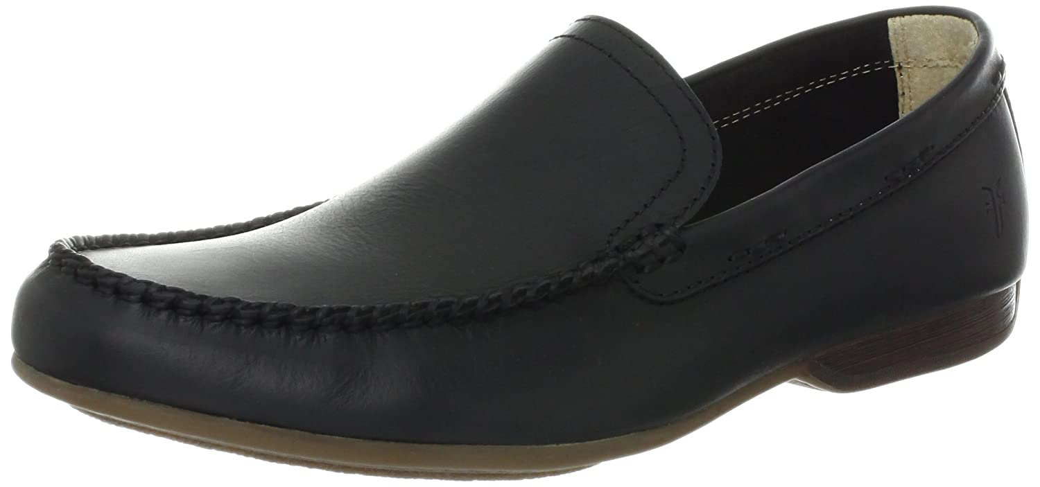 Black - 80257 Frye Men's Lewis Venetian Slip-On